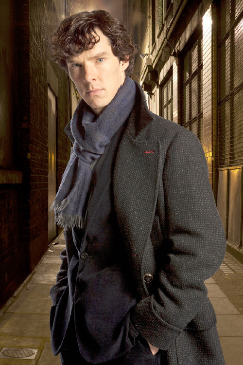 Benedict Cumberbatch as Sherlock Holmes. Hartswood films | BBC
