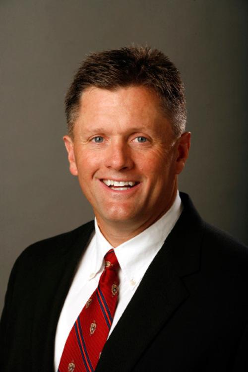 Kyle Whittingham, Head Coach of the 2006 University of Utah Football team in Salt Lake City.  ( Photo/Steve C. Wilson / University of Utah)