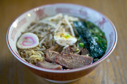 Chris Detrick | The Salt Lake Tribune U0026#xA;BBQ Pork Ramen ($8.50