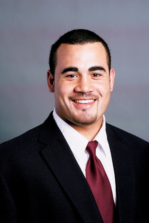 Koa Misi is one of six University of Utah football players taken in the 2010 NFL draft. All six Utes have stuck with their pro teams. (Photo courtesy University of Utah)