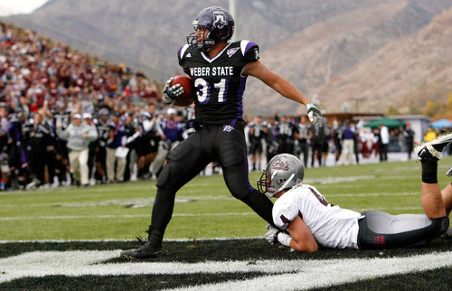Weber State Grinds Out Win Over No 7 Montana The Salt Lake Tribune