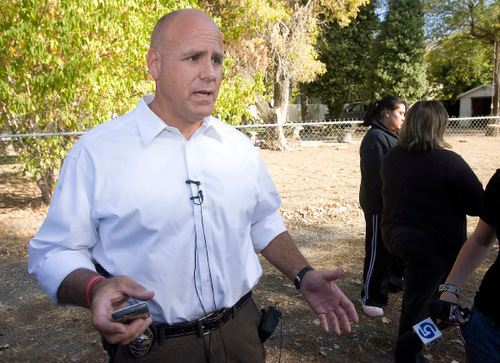Al Hartmann  |  The Salt Lake Tribune  Police in Cottonwood Heights are expected to present a case to the district attorney, who will decide whether to file criminal charges against Officer Beau Babka, seen here in this Oct. 15, 2010, photo.