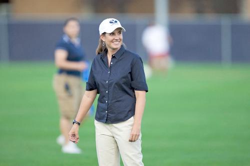 Jaren Wilkey   BYU Jennifer Rockwood is the coach of BYU women's soccer team. She is in her 16th season, building a nationally ranked program.