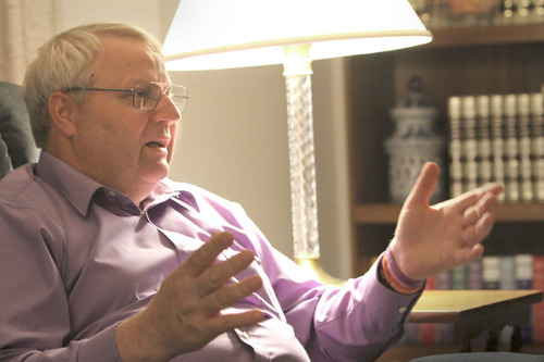 Rick Egan   |  The Salt Lake TribuneChuck Cox, father of Susan Powell, talks about the disappearance of his daughter last December.