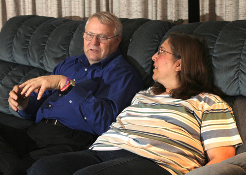 Rick Egan   |  The Salt Lake Tribune  Chuck and Judy Cox, parents of Susan Cox Powell, talk about the disappearance of their daughter last December during an interview in their home in Puyallup, Wash., on Thursday.