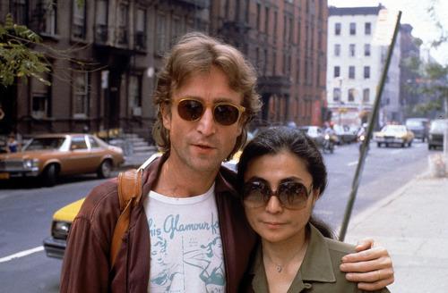 David McGough     Getty Images  John Lennon and Yoko Ono in New York City