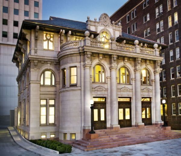 Courtesy of Darren Elwood  |  O.C. TannerThe restoration of the old Salt Lake City library cost $25 million. The building will now serve as headquarters for retail jeweler O.C. Tanner Co.