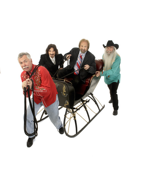 The Oak Ridge Boys will celebrate Christmas and their chart-topping hits at Abravanel Hall on Nov. 30.