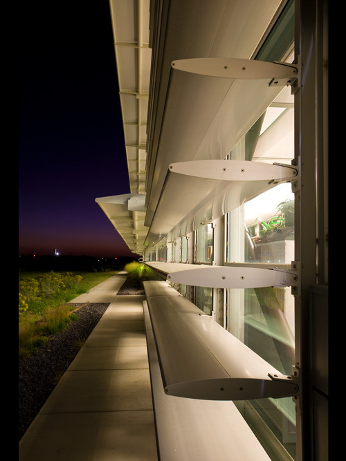 The Center for Advanced Energy Studies (CAES) in Idaho Falls was recently recognized in the AIA Utah Chapter's 2010 competition for architecture. It was designed by GSBS Architects in Salt Lake City,