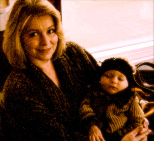 Michele MacNeill with her daughter Ada.