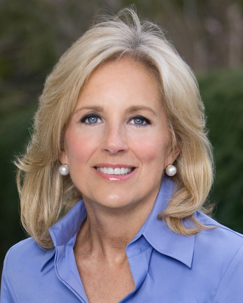 Jill Biden is the wife of Vice President Joe Biden.