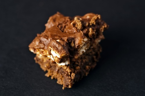Chris Detrick  |  The Salt Lake Tribune  Chocolate marshmallow brownies, the recipe from grandmasdesserts.blogspot.com.