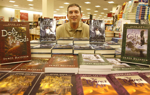 West Jordan - James Dashner is an accountant-turned-fantasy-writer who just received a national publishing contract for his book