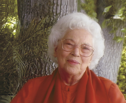 Sri Daya Mata, president of Self-Realization Fellowship in Los Angeles, died Tuesday at 96. Courtesy of Self-Realization Fellowship, Los Angeles.