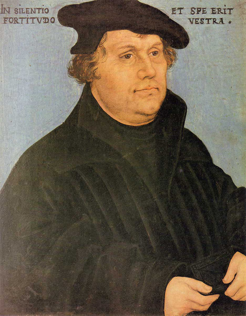 Martin Luther, initiated the Protestant Reformation.