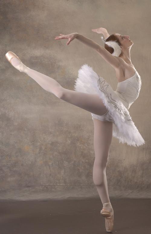 Ballet West dancer Christiana Bennett. Courtesy photography by Quinn Farley