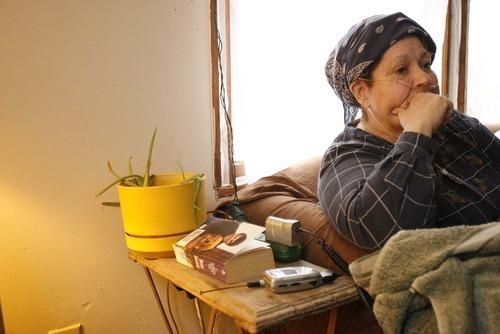 Trent Nelson  |  The Salt Lake Tribune Gina Putnam (left), in her Motoqua home Wednesday, December 22, 2010.