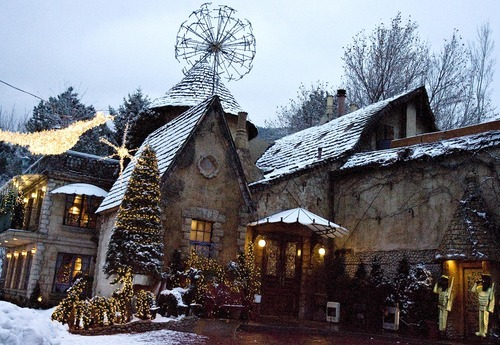 Djamila Grossman  |  The Salt Lake Tribune  View of La Caille, 9565 Wasatch Blvd., Sandy, on Sunday, Dec. 26, 2010.