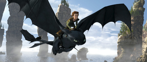 A scene from DreamWorks' animated film,