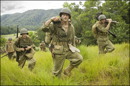Tom Budge, James Badge Dale and Joshua Helman in
