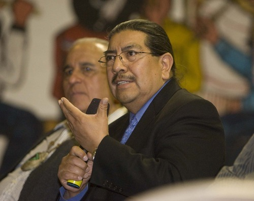 Paul Fraughton | Tribune file photo Fired Division of Indian Affairs Director Forrest Cuch that he was given no reprimand, no warning and no reason for his dismissal.