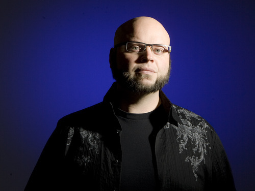 Keith Johnson | The Salt Lake Tribune Artist Anthony Granato