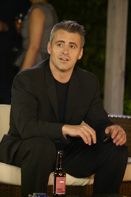 In this publicity image released by Showtime, Matt LeBlanc stars as himself in a scene from the Showtime original series,