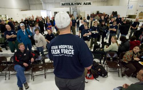 Steve Griffin  |  The Salt Lake Tribune  Salt Lake City -  John Nichols, a member of the executive team for the