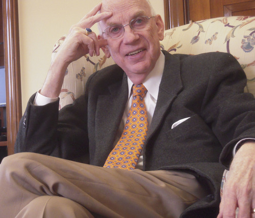 THOMAS BURR   Tribune File Photo Former Sen. Bob Bennett of Utah says the country would be a lot better off if his old colleagues in Washington -- on both sides of the aisle -- spent more time solving problems and less time on politial spin.