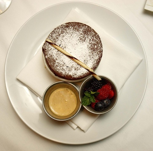 Trent Nelson  |  The Salt Lake Tribune House-made desserts are the surest bets at Easy Street Brasserie in Park City, such as the chocolate soufflé.