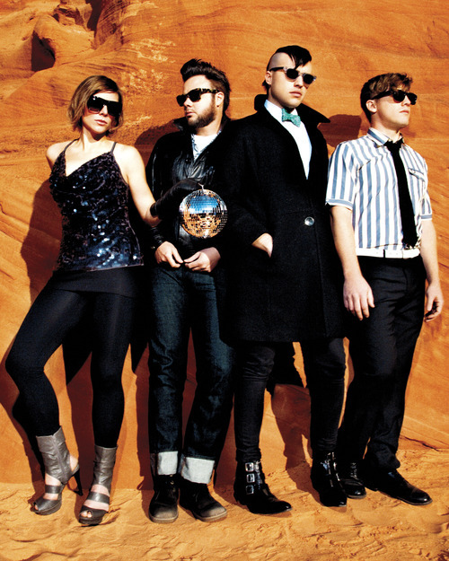 Sundance music: Neon Trees performs at the House of Blues Foundation Room on Jan. 19.