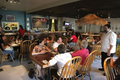 Rick Egan      The Salt Lake Tribune Puerto Rican comes to Zion at the family-run Adobos Caribbean Grill in a Sandy strip mall.