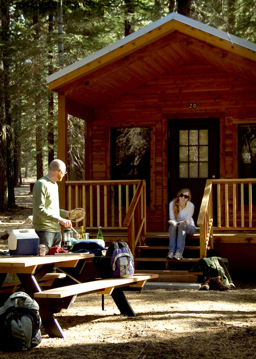 New cabins available at lassen volcanic national park for Lassen volcanic national park cabins