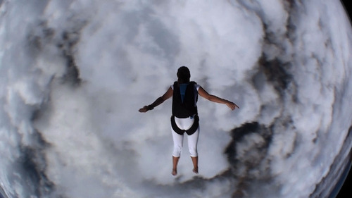 |  courtesy image A barefoot skydiver is one of the people shown in the crowd-sourced documentary