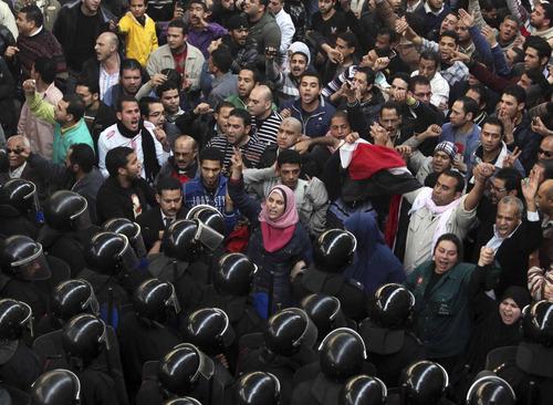 Bloody Cairo: Mubarak setting up successor? - The Salt ...