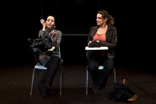 Chris Detrick for In This Week  (L-R) Deena Marie Manzanares and Nell Gwynn explore their similarities and differences in a scene from