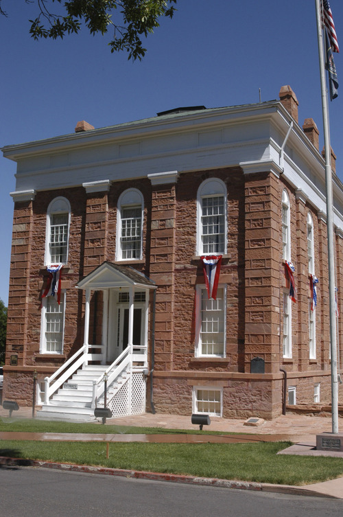 The Old Territorial Statehouse in Fillmore was Utah's first capitol building and first state park. Tribune file photo