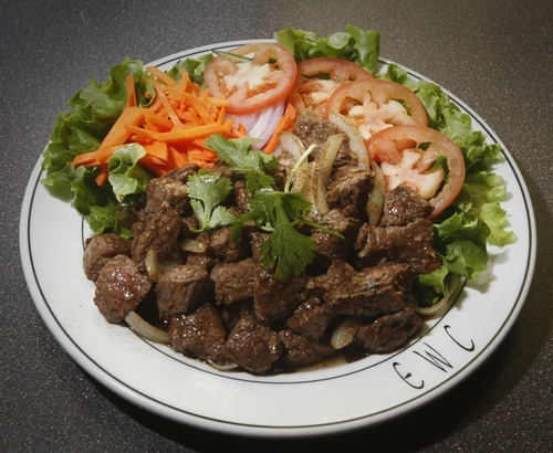 Rick Egan   |  The Salt Lake Tribune The East-West Connection in Salt Lake City's Foothill Village offers a great alternative to ubiquitous Chinese takeout. Try Look Luck beef, among others.