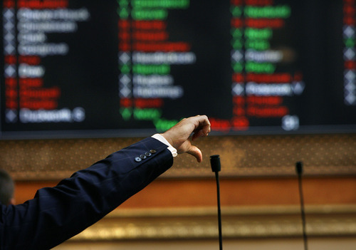 Scott Sommerdorf  |  The Salt Lake Tribune Rep. Greg Hughes (R; Draper) votes