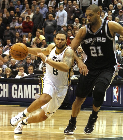 Rick Egan   |  The Salt Lake Tribune Deron Williams was selected by coaches Thursday as a reserve on the Western Conference 2011 All-Star team.