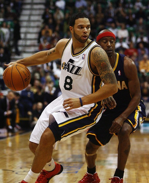 Djamila Grossman  |  The Salt Lake Tribune  Deron Williams was selected by coaches Thursday as a reserve on the Western Conference 2011 All-Star team.