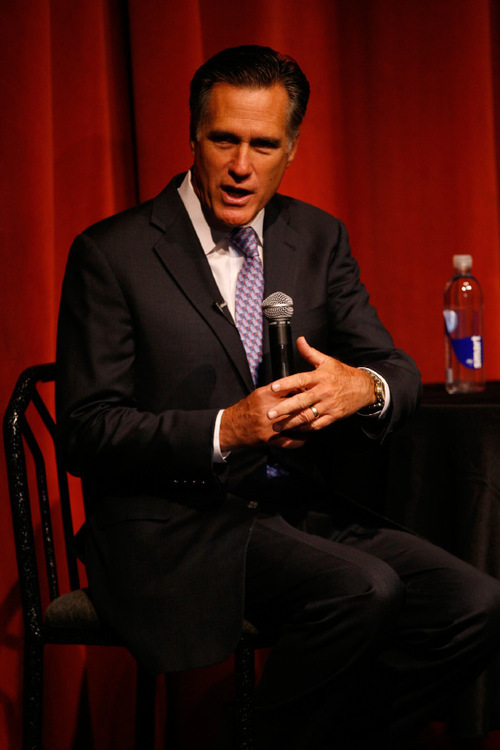 Francisco Kjolseth  |  Tribune file photo Mitt Romney, shown in 2009, may run for president again.