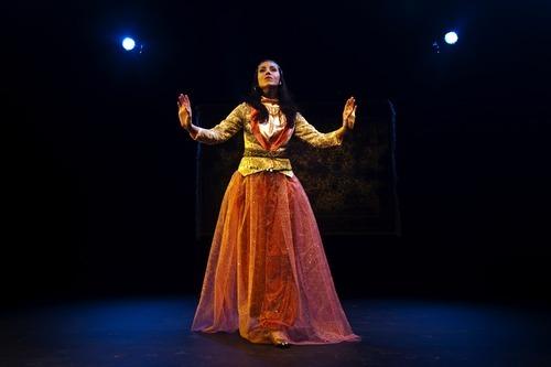 Chris Detrick     The Salt Lake Tribune  Deena Marie Manzanares dances in a scene from