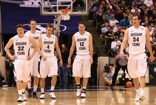 Leah Hogsten  |  The Salt Lake Tribune The Cougars capitalized on UNLV's turnovers, scoring 20 points off the turnovers.  The Brigham Young University Cougars defeated UNLV Saturday, February 5, 2011, in Provo, 78-64 at the Marriott Center.