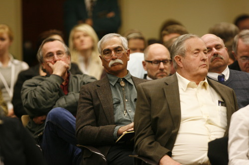 Scott Sommerdorf  |  The Salt Lake Tribune Committee meeting to discuss Rep. Stephen Sandstrom's HB70, Friday, February 11, 2011.