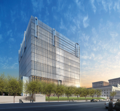 Downtown Salt Lake City Living: Construction On New Federal Courthouse Under Way