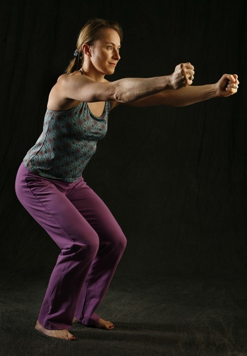 Francisco Kjolseth  |  Salt Lake Tribune file photo Coach and exercise guru Kristen Ulmer.