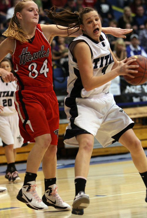 Girls Basketball Alta Topples Syracuse For 5a Title The