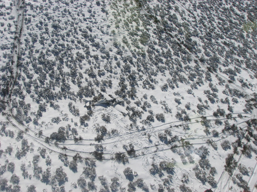 Courtesy Utah Department of Public Safety A single-engine, fixed-wing plane crashed Saturday about 6 miles west of Milford, killing pilot Allen Layton, of Los Angeles, who was the only one onboard. Searchers did not find the wreckage until Sunday.