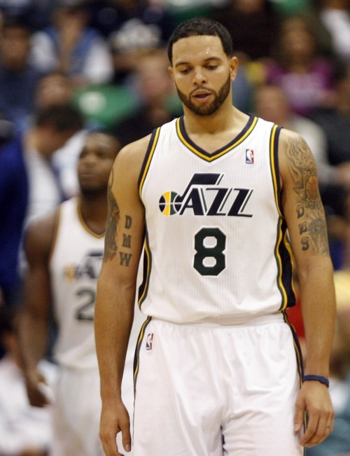 Chris Detrick  |  The Salt Lake Tribune  A frustrating season for Deron Williams in Utah was cut short when the Jazz traded the All-Star point guard to the New Jersey Nets last week.